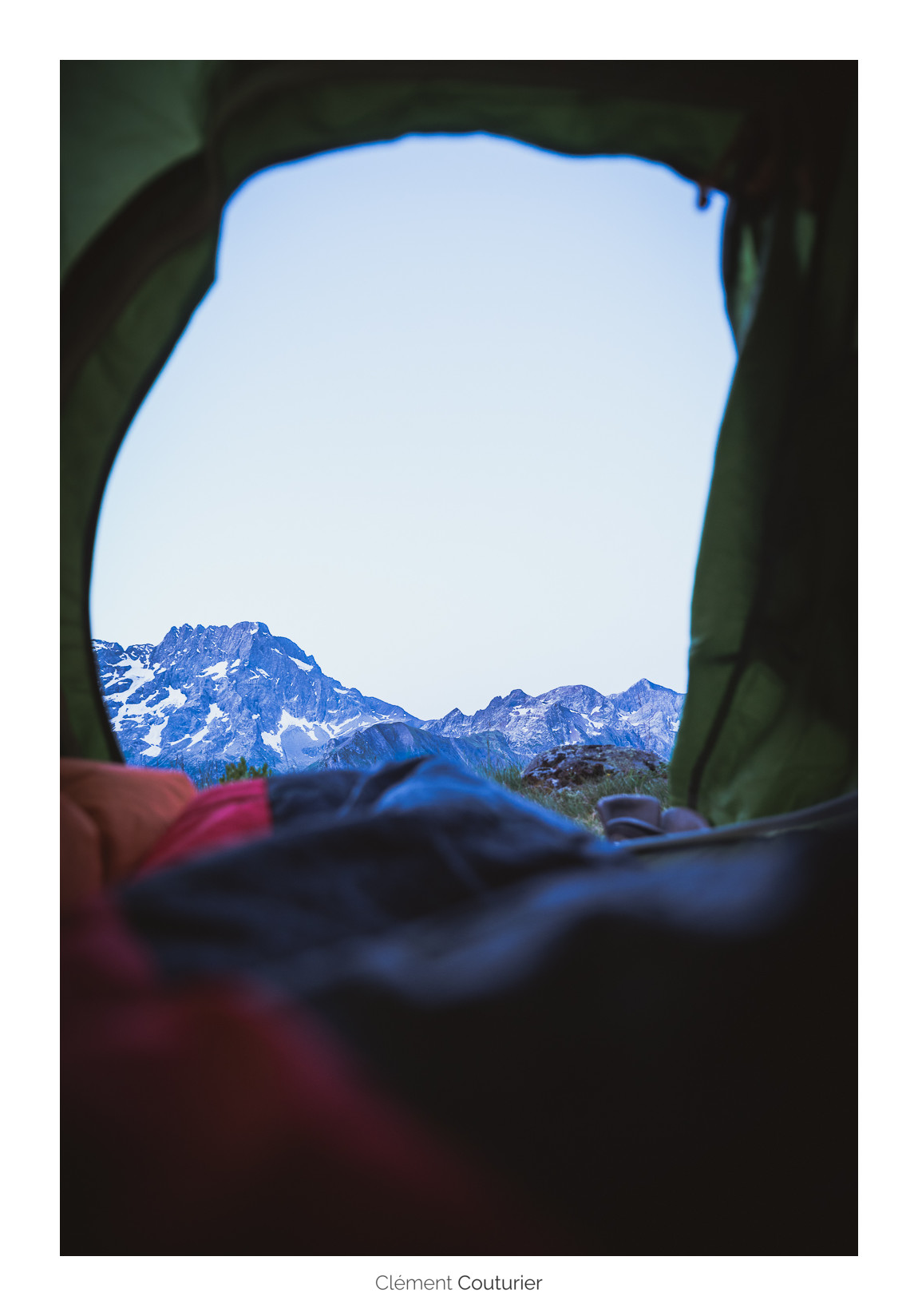 tente montagne bivouac - Clément Couturier