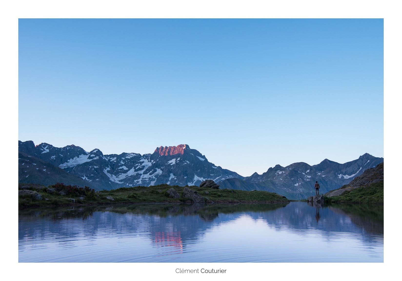 lac de montagne - Clément Couturier